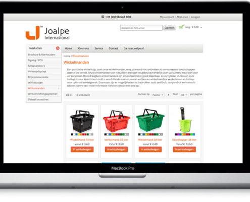 Winkelmanden kopen op webshop