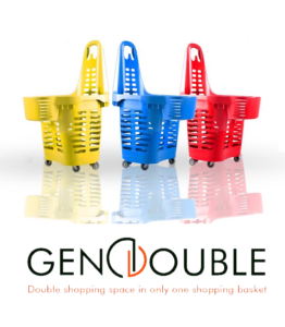 Gen Double - Double shopping space in only one basket